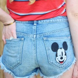 H&M Mickey Shorts
